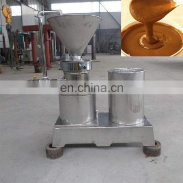 Commercial peanut butter colloid milling machine
