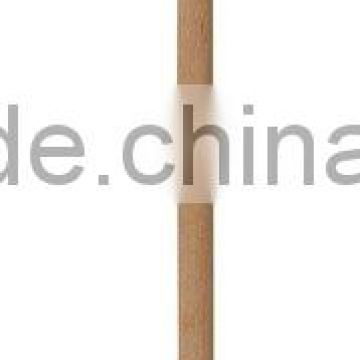 S6536 powder coated round shovel with wooden handle