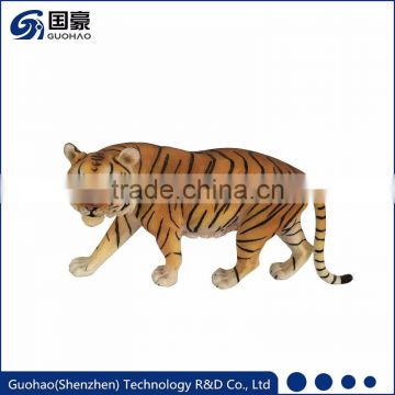 Custom resin animal figurine artficial tiger model