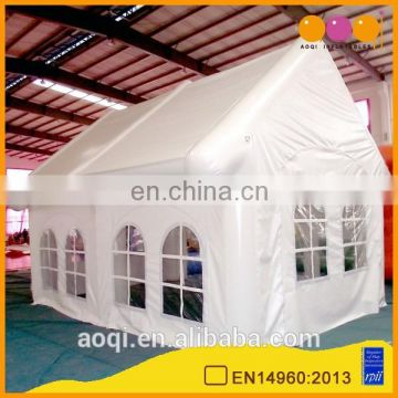 2015 commercial use outdoor sealed inflatable white house tent for wedding