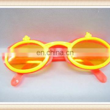 Plastic spectacles toy, kids party double frame glasses toy