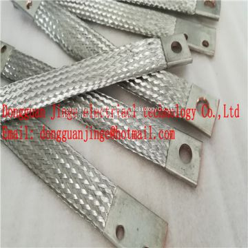 Good quality copper braid soft connector from China