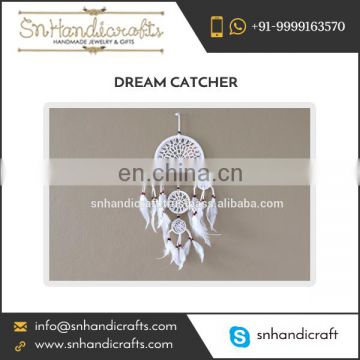 Unique Design White Color Crochet Dream Catcher Manufacturer