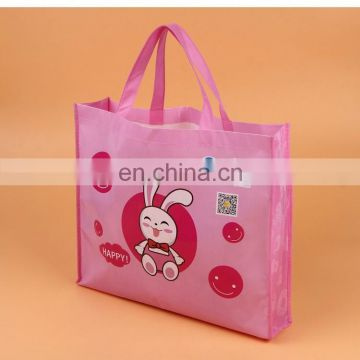 Reusable supermarket foldable shopping bag with custom logo