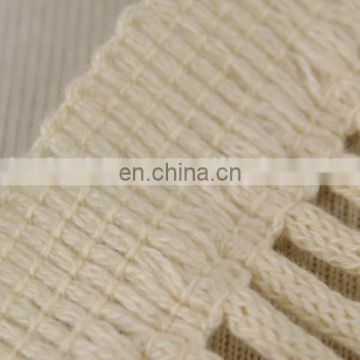 New design fancy embroidery natural ladder cotton lace trim for bag