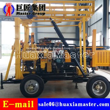 XYX-200 Wheel Type hydraulic rotary water well drilling rig