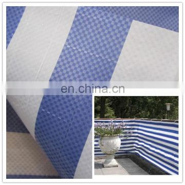 low price high tensile stripe color pe tarpaulin sheet