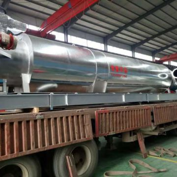 Single Drum Dryer Sawdust Pipe Dryer Wood Chips Air Flow Pipe Drying