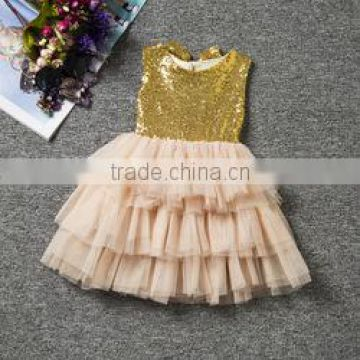 2016 new model girl dress sequined kids dress cupcake dress for children wholesale                                                                         Quality Choice                                                     Most Popular