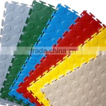 China Supplier Outdoor Colorful PVC Interlocking Floor Tiles