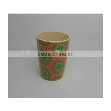 BSCI audit Eco-friendly Bamboo Fiber Print Cup