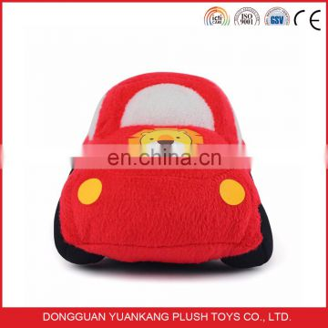 YK SEDEX plush toy soft cartoon stuffed car for baby