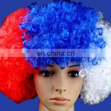 2018 world cup Russia Afro wigs idea for fans promotion gifts for football fans