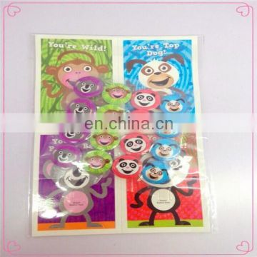 cute animal simle face pin