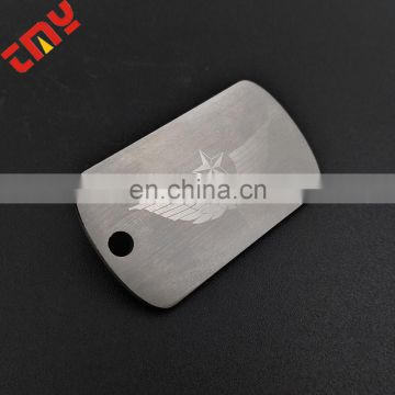 wholesale customized reusable top quality metal tag for pets