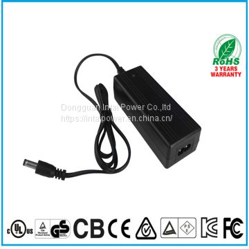 UL certificate single output dc 54.6V 1A 60W bench power supply laptop charger