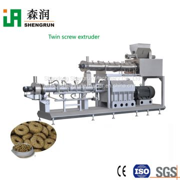 Stainless steel pet food extruder cat food production line