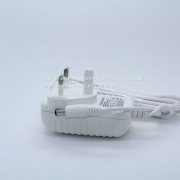 7.5V2A  power charger for Security products with EU/AU/US/UK standard
