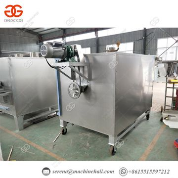 Commercial Sesame Seed Roasting Machine Bean Roaster 80 - 120 Kg/h
