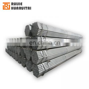 Greenhouse pipe, scaffolding pipe water pipe Pre Galvanized round steel pipes