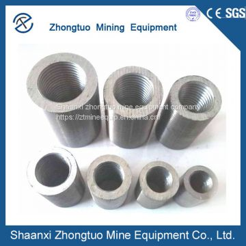 High Quality 45# Carbon Steel Parallel Thread Rebar Couplers
