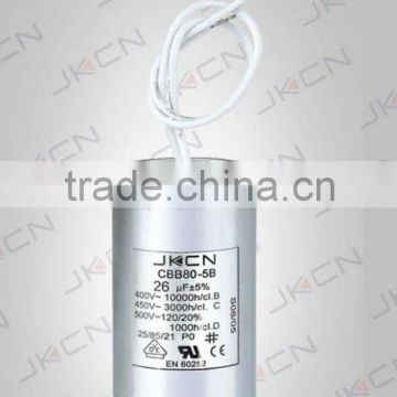 CBB80 30uf 250v capacitorfor lighting,3uf capacitor FOR SALE