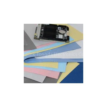 Silicone Fiberglass thermal conductive thermal interface material