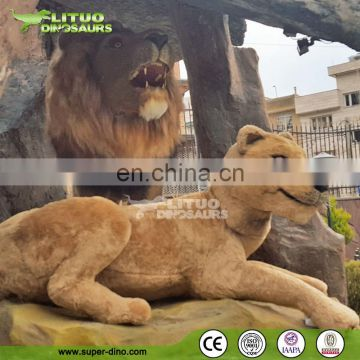 Customer Made Life-size Simulation Lion Animals