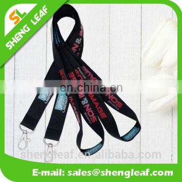 New products cheap custom printed neck lanyards / polyester lanyard china wholesale