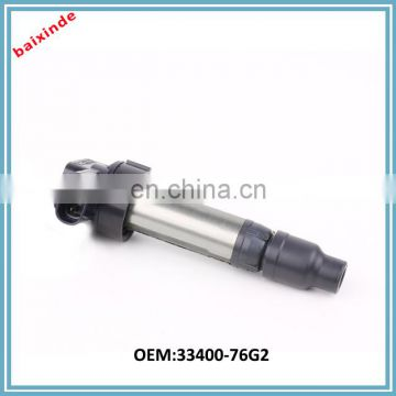 High performance original car parts electronic pencil Ignition Coil 33400-76G2 3340076G2