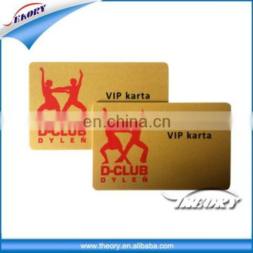 Pvc access control plastic 13.56Mhz printing smart ic card