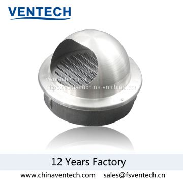 aluminum ball weather louver supply air louver China supplier