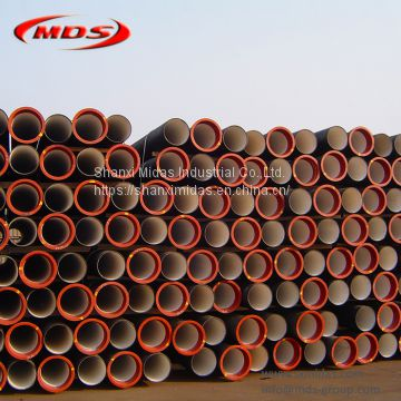ISO2531 di cast ductile iron k9 tube
