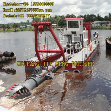 Environmental Dredging 1000 M³/h Sand Suction Boat
