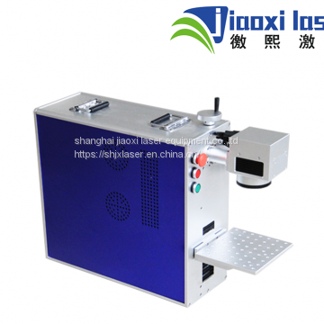 China factory price portable laser marking machine for PCB Metal 30W
