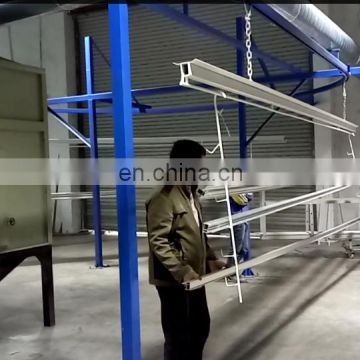 Best design control cabinet automatic powder coating line