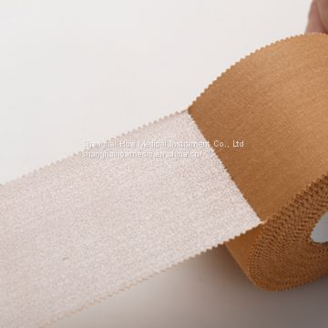 Strong Rigid Zinc Oxide Medical Strapping Athletic Cotton Taping Tape/Sports Tape