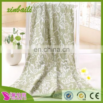 china supplier high quality bamboo fiber and cotton bath towel
