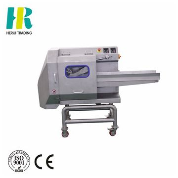 Leafy vegetable processing machinery cutting machine