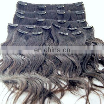 high quality ombre hair extension clip in wholesale supplier alibaba hair