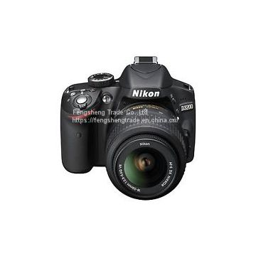 Cheap Nikon D3200 24.2 MP Digital SLR Camera - Black (Kit w/ AF-S VR DX 18-55mm lens