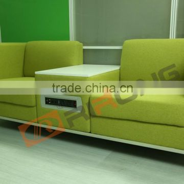 Latest Design Hall Sofa Set Portable Lap Top Outlet Hair Salon