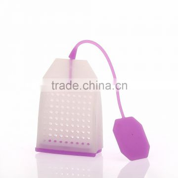 environmental tea strainer silicone infuser teabag