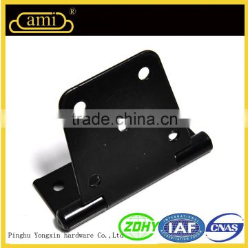 Black Japanned double sliding door accessories for wooden frame