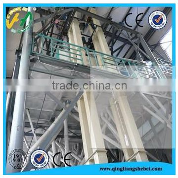 Steel frame structure 500TPD wheat flour milling machines with price