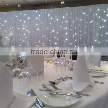 dreamlike world led star curtain for wedding and stage background