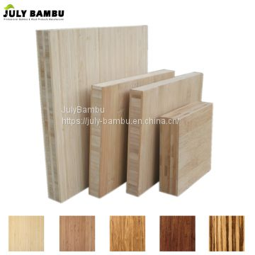 Factory Price 5 layers vertical laminated bamboo furniture board E1 bamboo lumber for sale