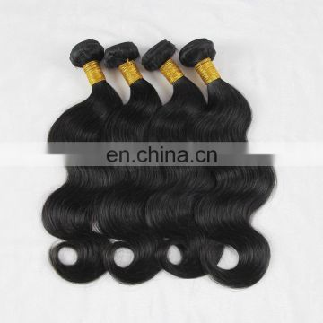 FACTORY PRICE 100% brazilian human virgin hair weaving in body wave style 9A grade raw unprocessed hair