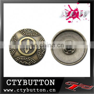 CTY-SN(119)metal shirt button snaps for leather