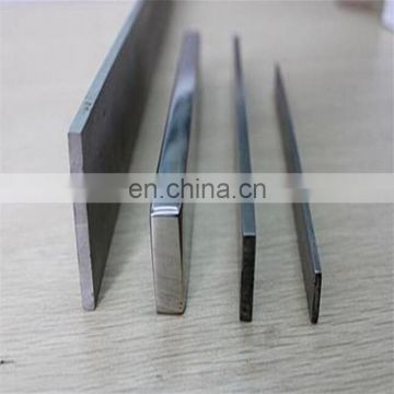 ISO certification aisi 304 304l stainless steel flat bar